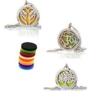 Aromatherapy Necklaces 30mm Selection from £13