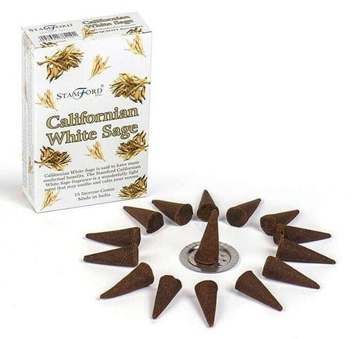 California White Sage Incense Cones