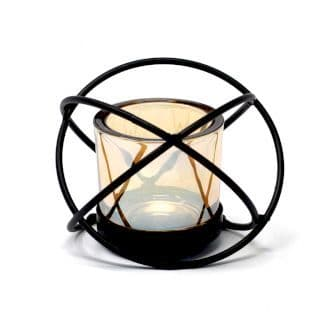 Iron Votive Candle Holder - 1 Cup Single Ball