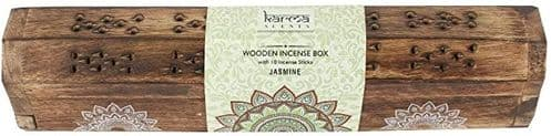 Jasmine Incense Sticks Wooden Box Set