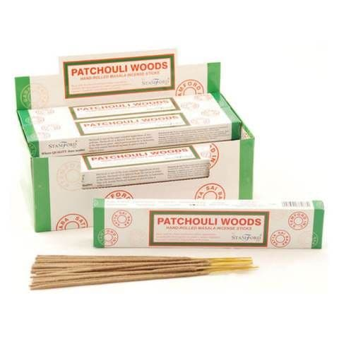 Patchouli Woods Incense Sticks