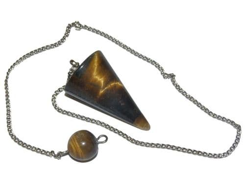 Tiger Eye Cone Pendulum