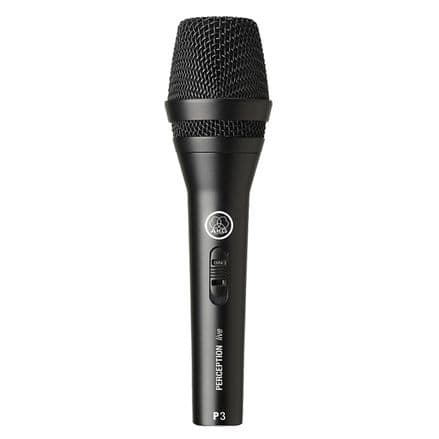 AKG P3-S  Dynamic Microphone with On/Off Switch