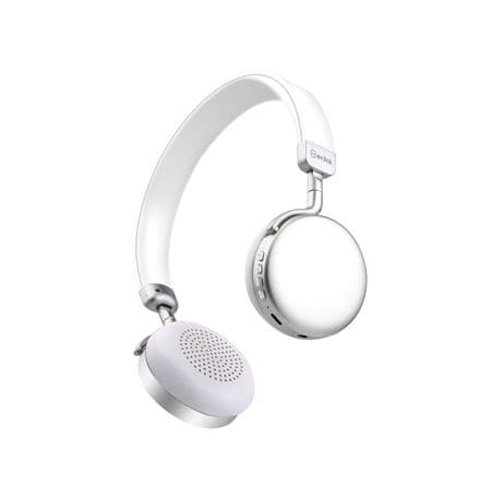 AV:Link NEO: Metallic Bluetooth Headphones Silver