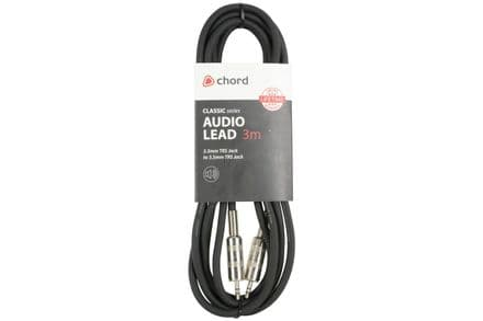 Chord Classic Audio Leads 3.5mm TRS Jack - 3.5mm TRS Jack