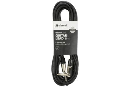 Chord Essential 6M Right-Angled Guitar Lead