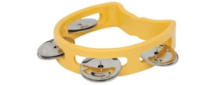 Chord Mini Tambourine - Yellow