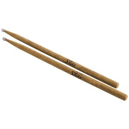 On-Stage Hickory 7A Drum Sticks