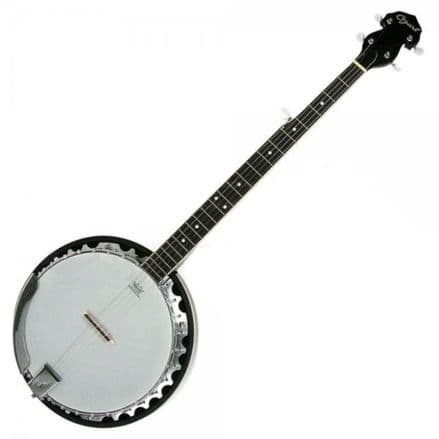 Ozark 2104G 5 String Banjo, with Gig Bag