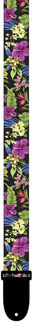"""Perri's UKLPCP-6670 Polyester Ukulele Strap 1.5"""" Multicolor Floral"""
