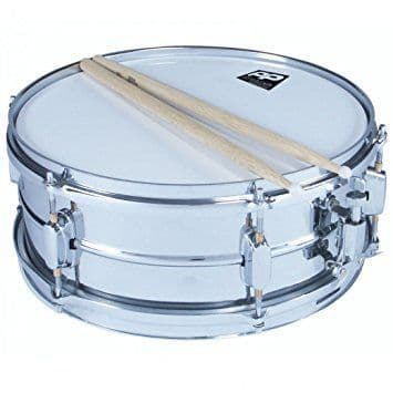 PP Drums PP185 14x5.5 Snare Drum with Sticks
