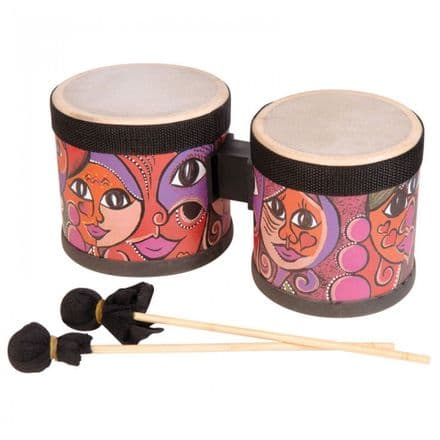 PP World Mini Bongos with Beaters