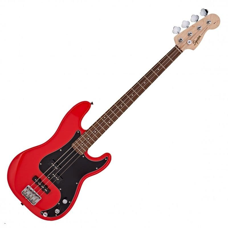 Squier Affinity Precision PJ Bass Race Red