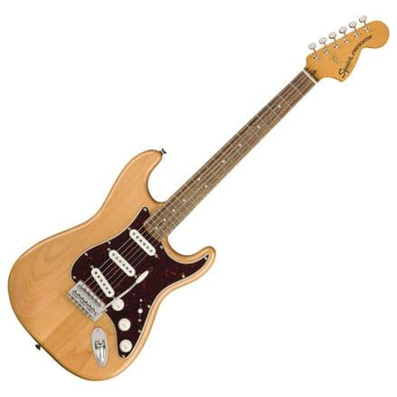 Squier Classic Vibe 70s Stratocaster LRL Natural