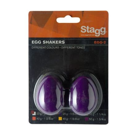 Stagg Egg Shakers Purple