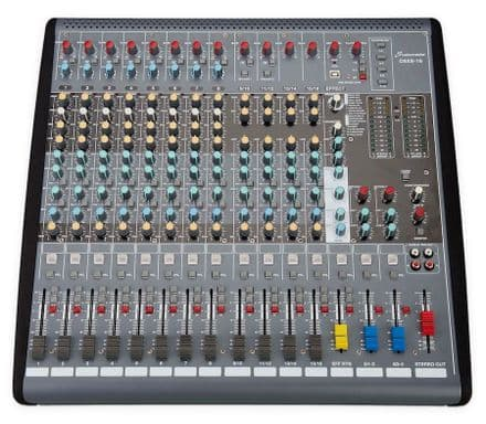 Studiomaster C6XS-16 Channel Compact Mixer With USB & DFX