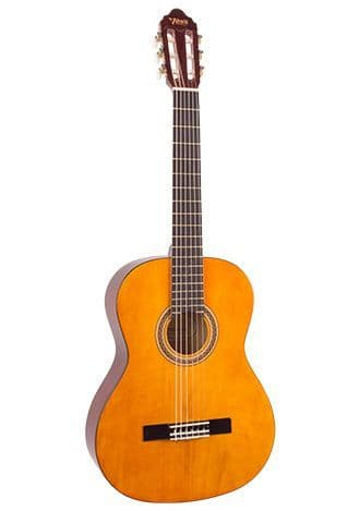 Valencia VC202 1/2 Size Classical Guitar Antique Natural