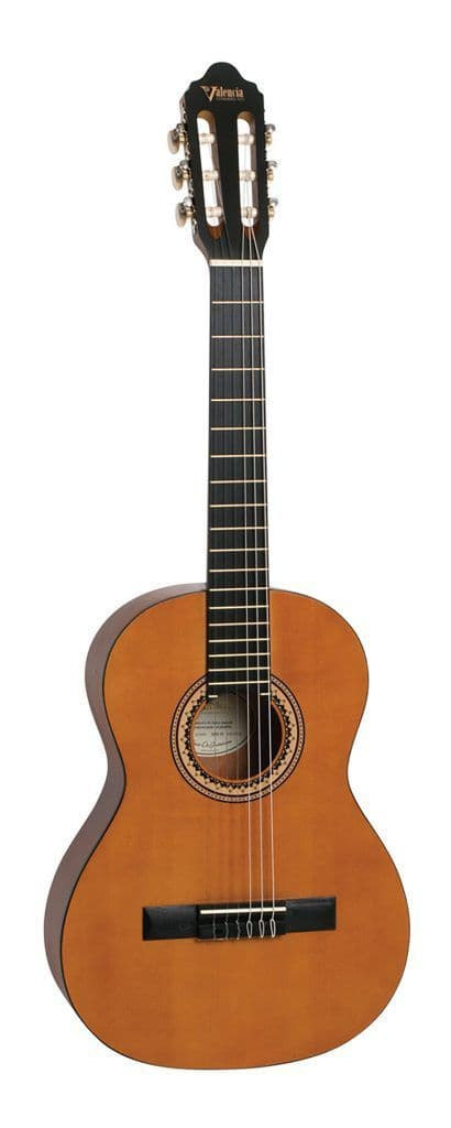 Valencia VC203 3/4 Size Classical Guitar Natural
