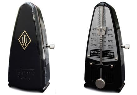 Wittner Taktell Piccolo Mechanical Metronome Black