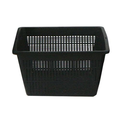 Betta Square Plant Basket Black 19cm / 23cm