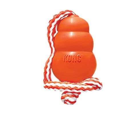 Kong Aqua with Rope Large