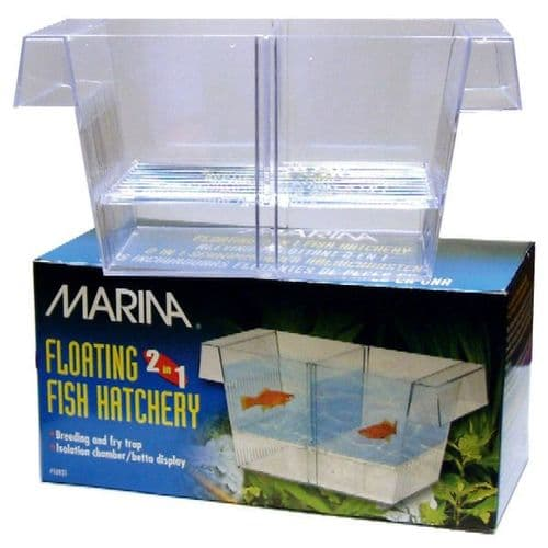 Marina 2 in 1 Breeding & Fry Trap - For Young Fish / Fry / Breeding