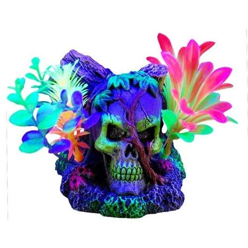 Marina iGlo Skull & Vines Ornament (11cm)