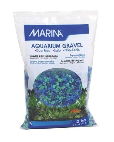 Marina Tri-Colour Blue Gravel 2kg
