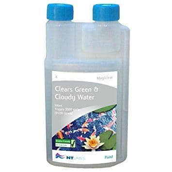 NT Labs MagiClear Clears Green & Cloudy Water