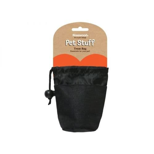 Rosewood Dog Treat Bag (Black)