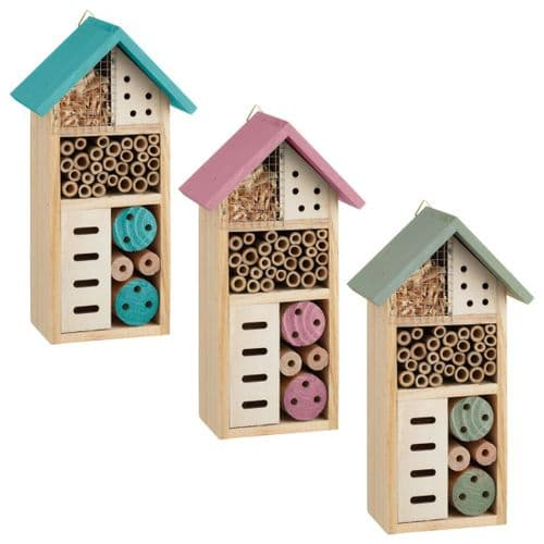 Small Bug / Insect Hotel (Blue)