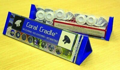 Tropical Marine Centre Coral Cradle (Bulk 35 Pack White)