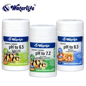 Waterlife pH To 6.5/7.2/8.3 Buffers