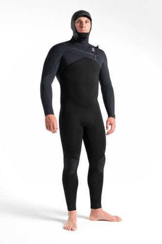 C-Skins Re-Wired 6-5-4mm Hooded Chest zip