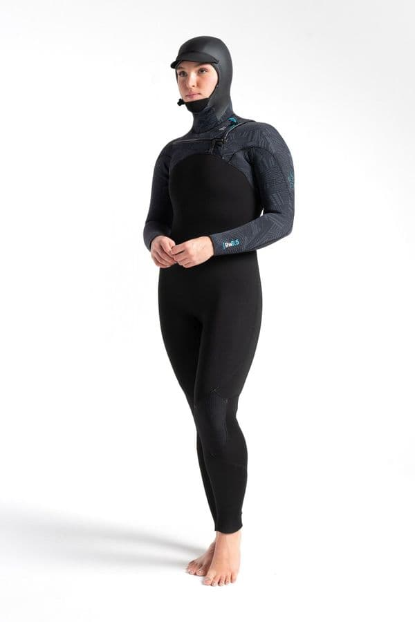 C-Skins Re-Wired 6 x 5 mm GBS Hooded Wetsuit
