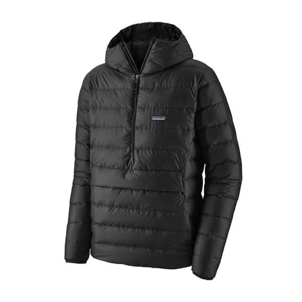 Patagonia Men's Down Sweater Hoody Pull over Blk