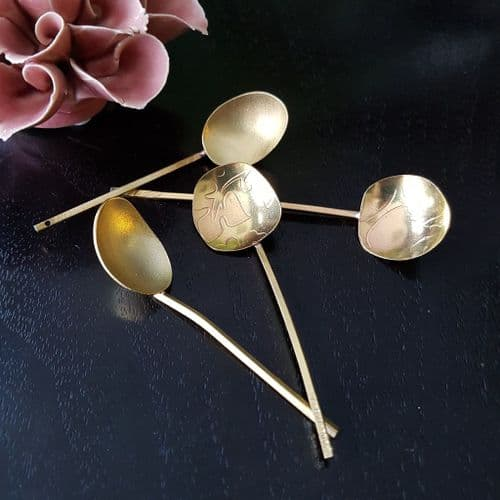 Brass Handcrafted Salt/Sugar Spoon