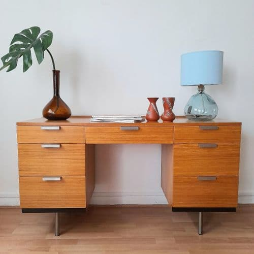 Fineline Desk by John and Sylvia Reid for Stag