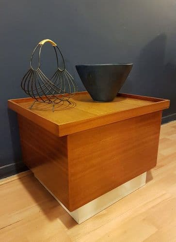 Mid-Century Custom Made Coffee Table/Storage Box