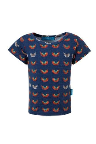 Boob Over the Rainbow Kids top