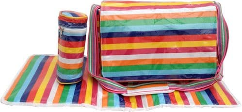 Rainbow Changing Nappy Bag RRP £39.99