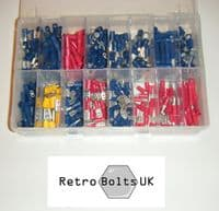 365pc Crimp On Electrical Terminals Assorted Box
