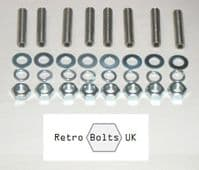 Ford Pinto Exhaust Manifold Studs (stainless steel)
