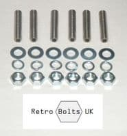 Ford Pinto Inlet Manifold Studs (Stainless Steel)