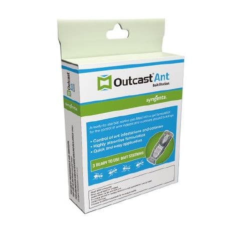 Outcast Ant Bait Station (Pack of 3)