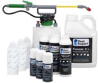 Pest Expert Carpet Moth Killer Kit for 3-4 Rooms