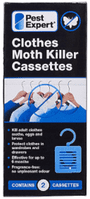 Pest Expert Clothes Moth Killer Cassettes (Twinpack)