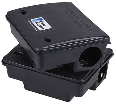 Lockable Rat & Mouse Bait Box x 8