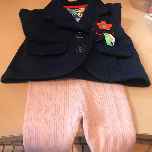0-0 First Size  Mixed Jacket and Trousers