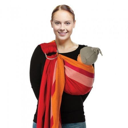 0-0 One Size Orange Mix Ring Sling